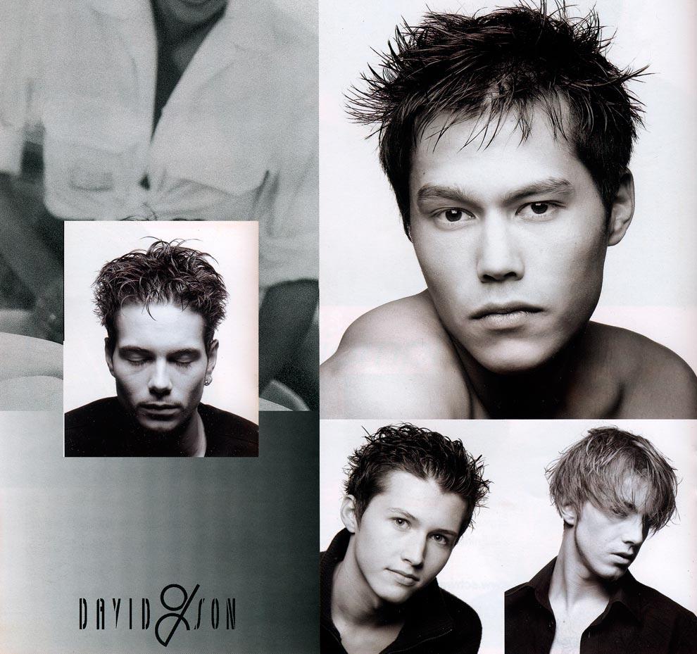 coiffure David & son page intérieur homme