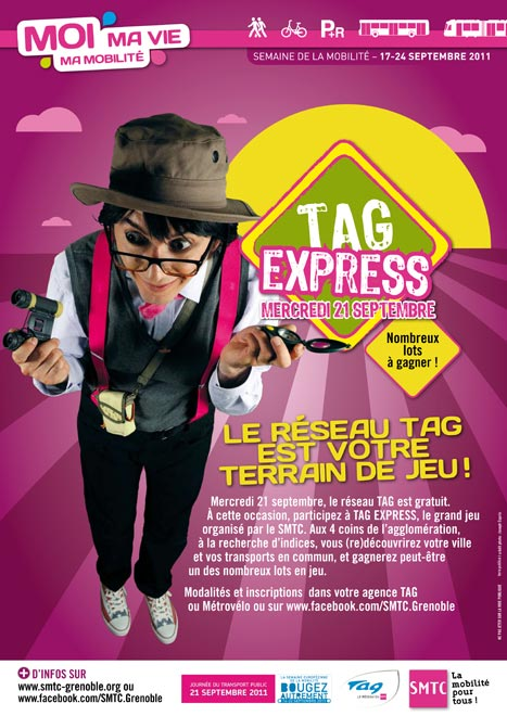 Affiche SMTC TAG express