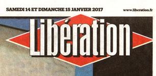 1ère parution dans le journal «Libération»